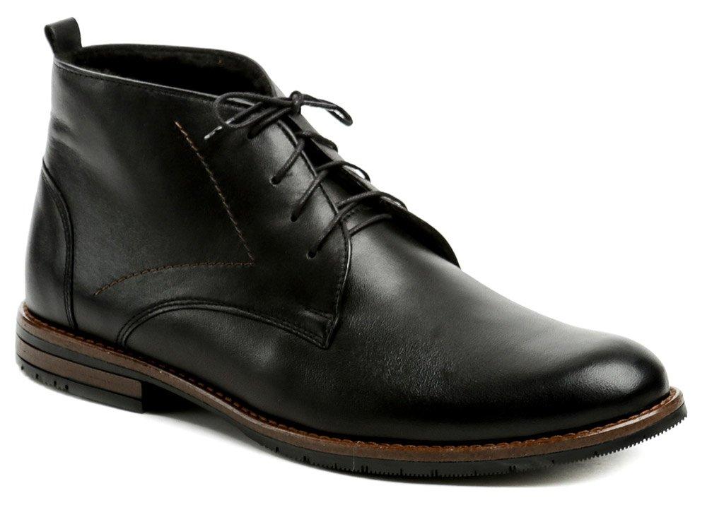 Agda 638 čierne pánske zimné topánky EUR 40