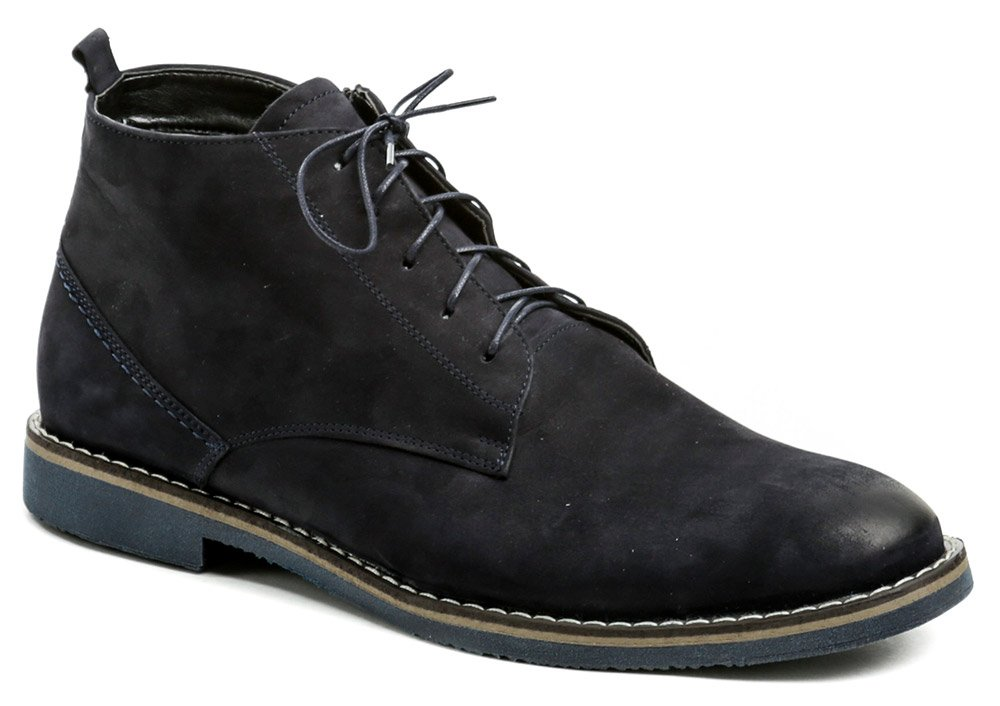 Agda 707 modré pánske zimné topánky EUR 42