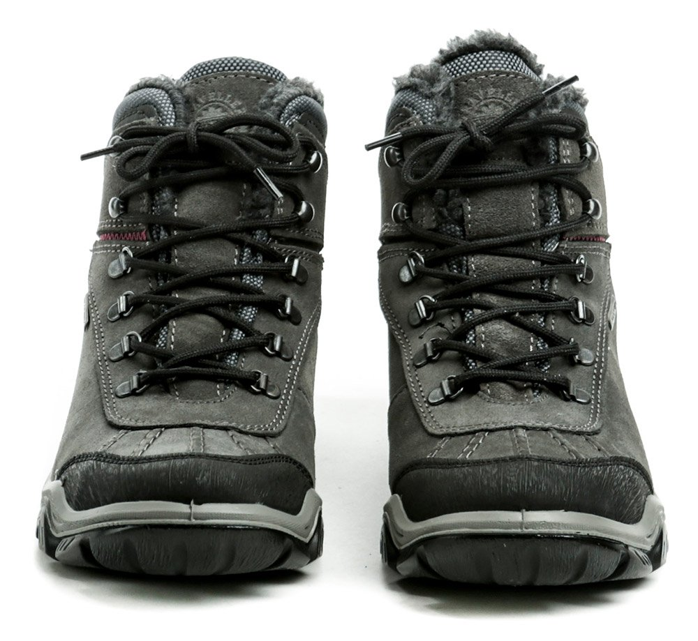 IMAC I2448z31 šedé dámske zimné topánky  f4a32963a5