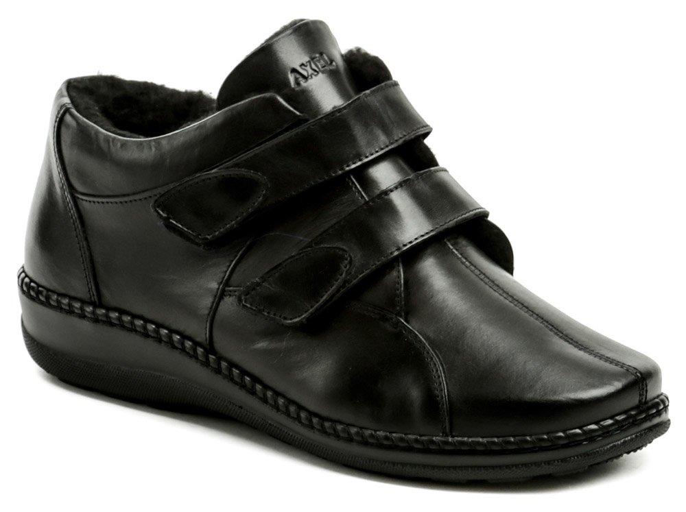 a7d79252c70a Axel AX1359 čierne dámske zimné topánky šírka H