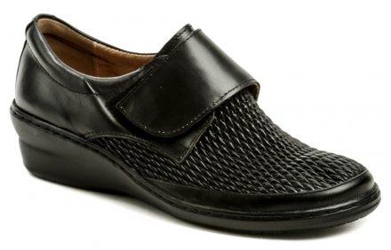 18dbdc7bd5 Di Janno 106-4719 čierna zdravotná dámska obuv