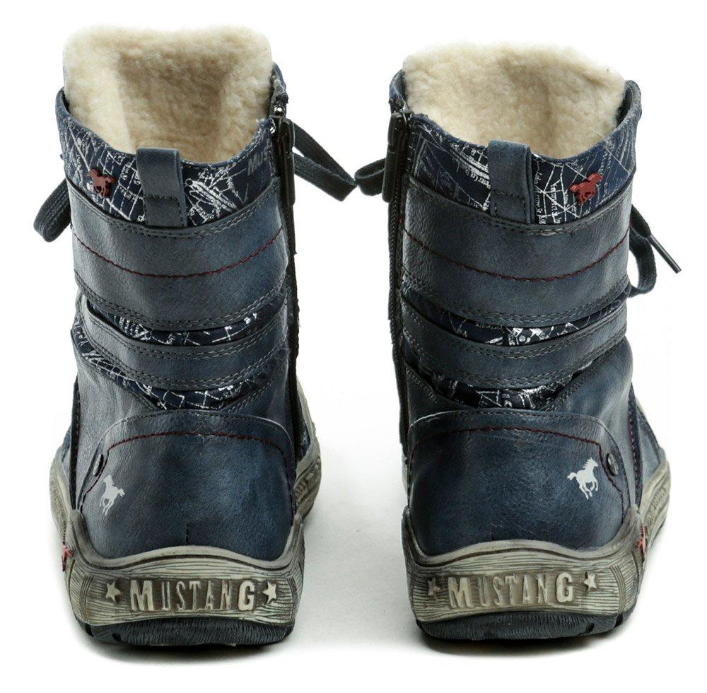 ea55da8b8 ... Mustang 1290-601-800 modrá dámska zimná obuv | ARNO-obuv.sk. Uvedený  produkt již není dostupný