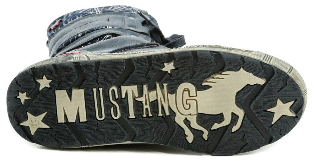 ... Mustang 1290-601-800 modrá dámska zimná obuv  6017844b786