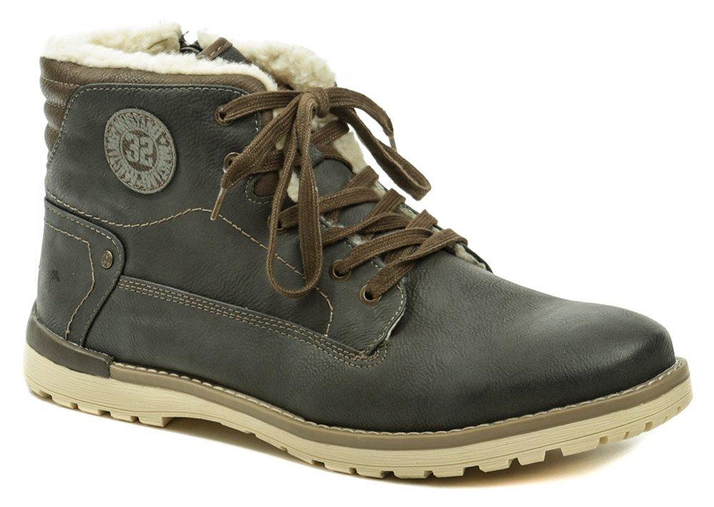 2c6efb165b72c Mustang 4092-602-259 graphit pánske zimné topánky   ARNO-obuv.sk