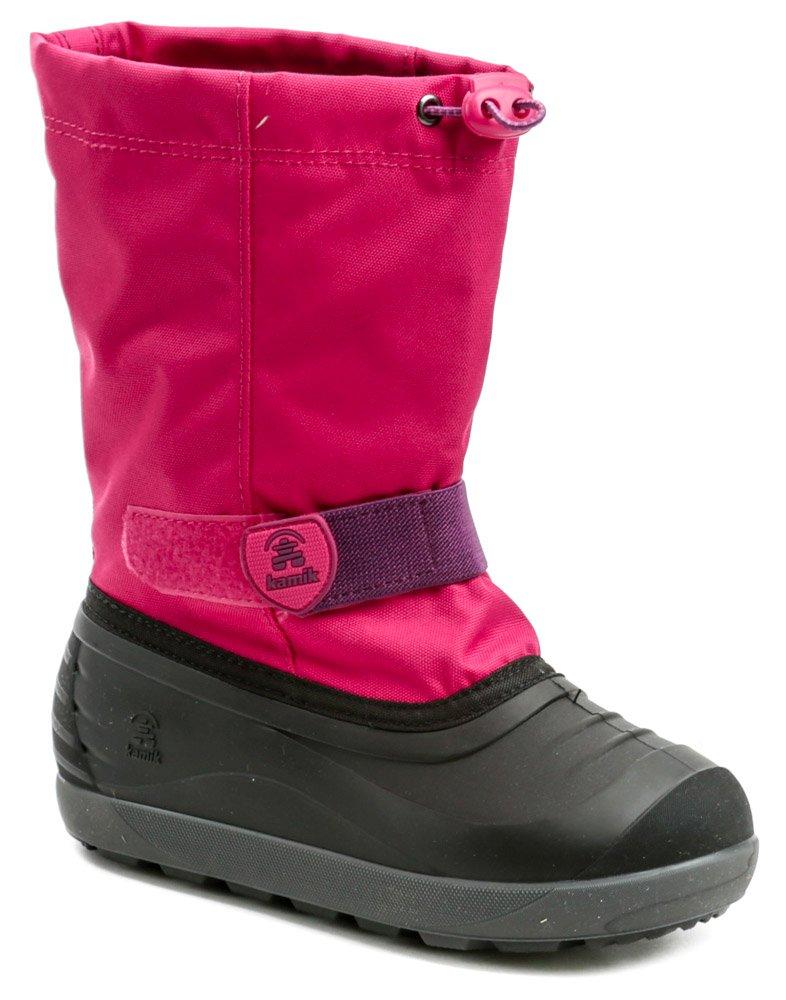 KAMIK Jet ružovo čierne detské zimné snehule EUR 38