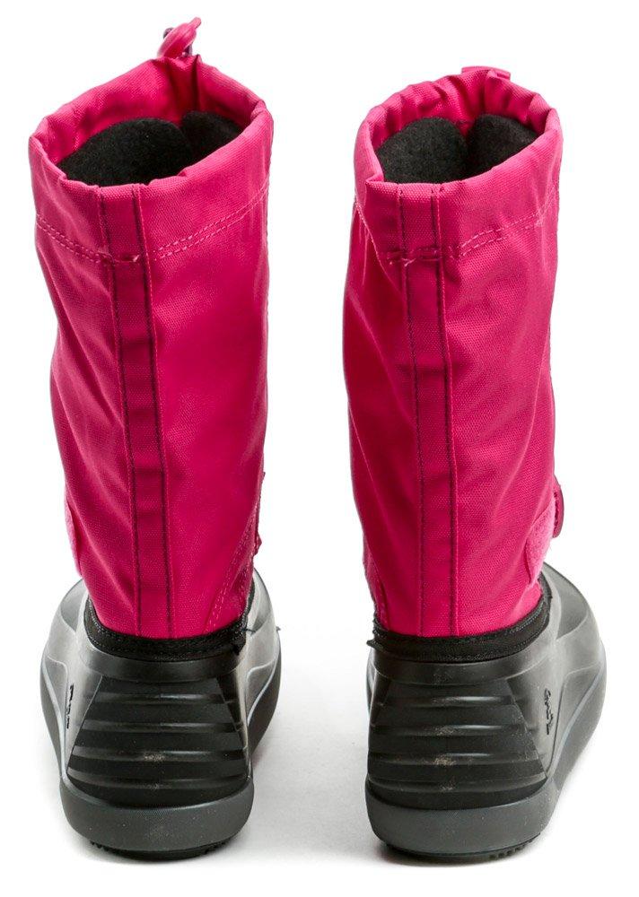 95c15ad0c6 KAMIK Jet ružovo čierne detské zimné snehule