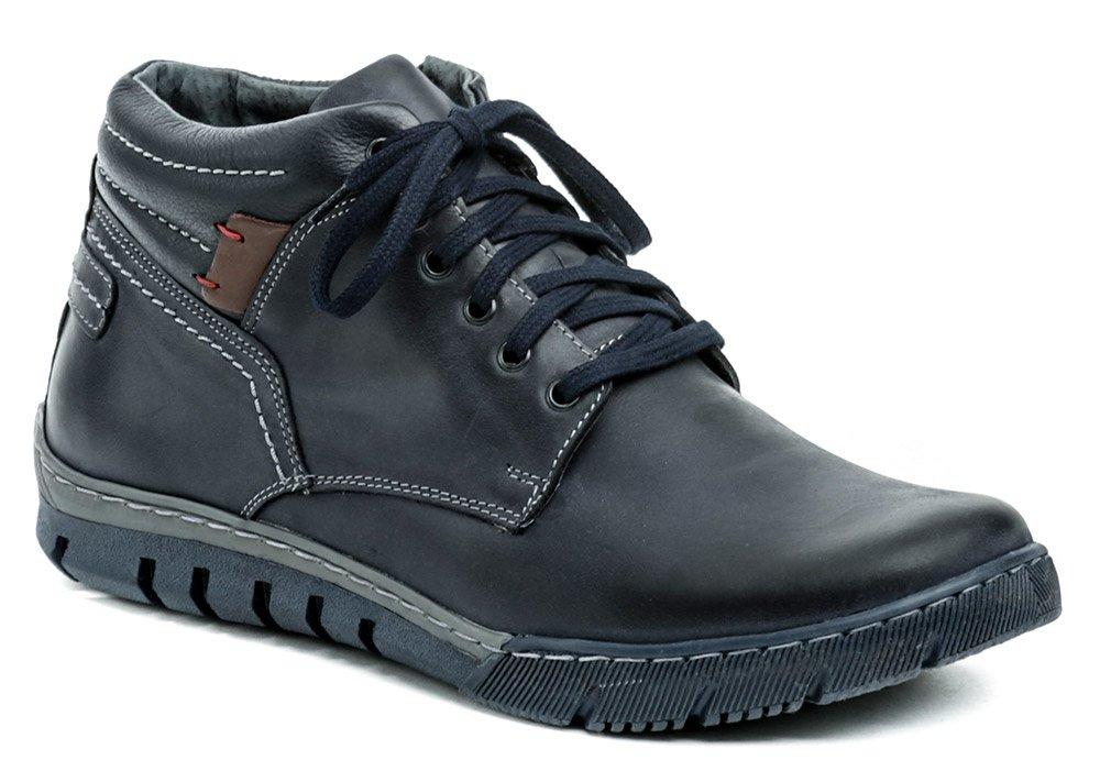 Mateos 712 modré pánske zimné topánky EUR 43