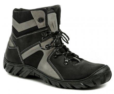 7d06fbc6d Koma 1052 čierno-šedé pánske nadmerné topánky