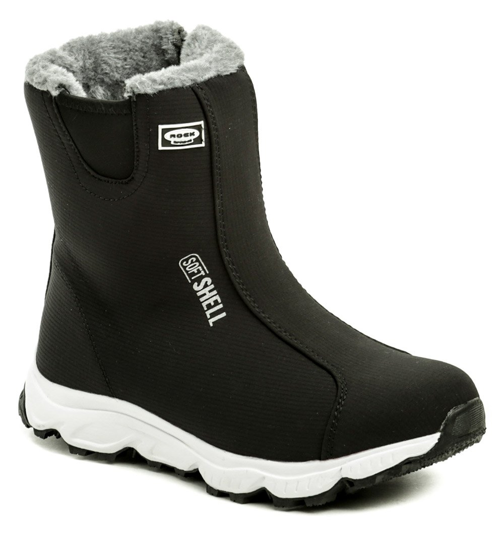 46b88f54128dd Rock Spring Arctica softshell čierno sivá dámska zimná obuv | ARNO-obuv.sk
