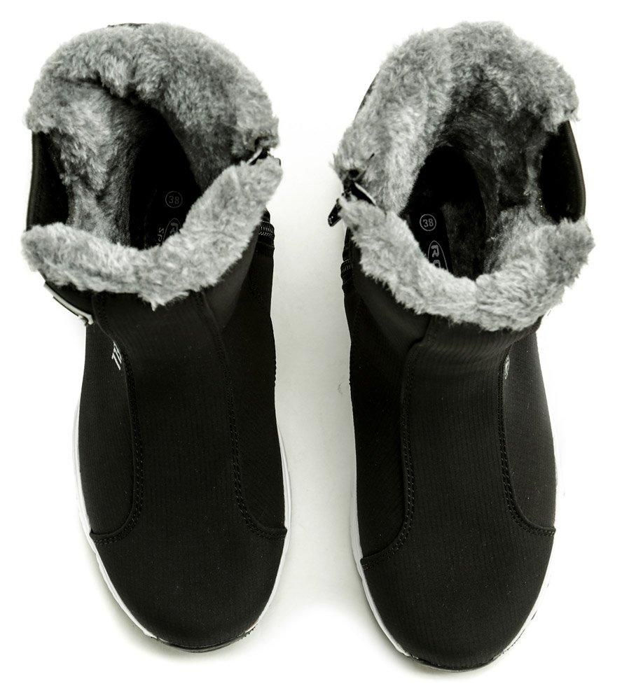 249ff644733d2 Rock Spring Arctica softshell čierno sivá dámska zimná obuv | ARNO ...