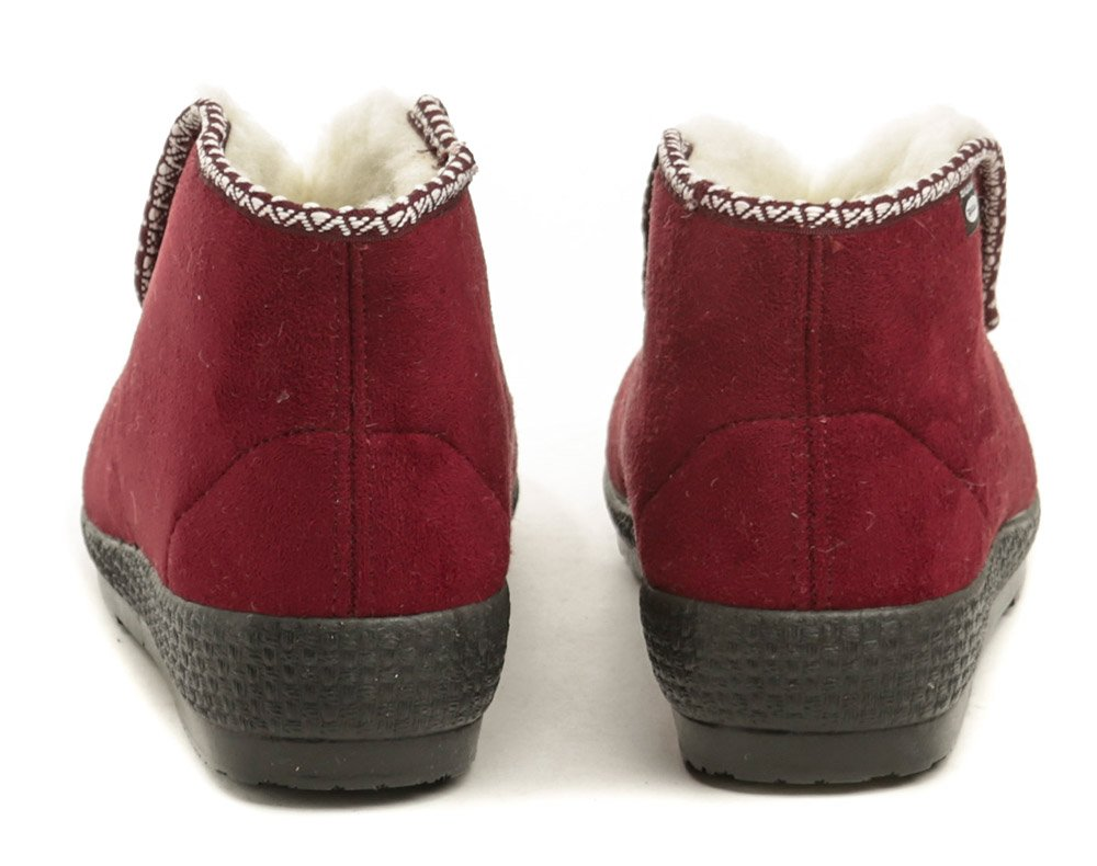 885989f16e Rogallo 2669-000 vínové dámske zimné papuče