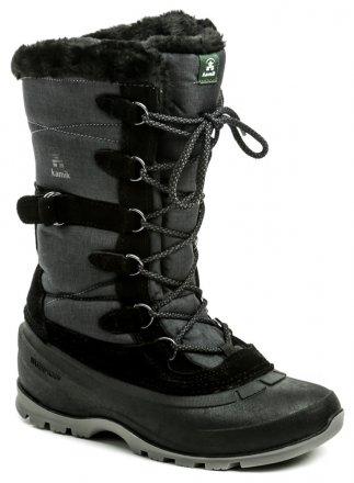 c1cf2b54b1106 Kamik Snovalley2 Black dámska zimná obuv