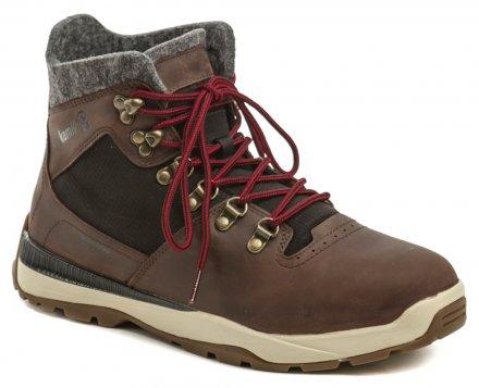Kamik Velox tmavo hnedé pánske zimné topánky 3b2659d9b9a