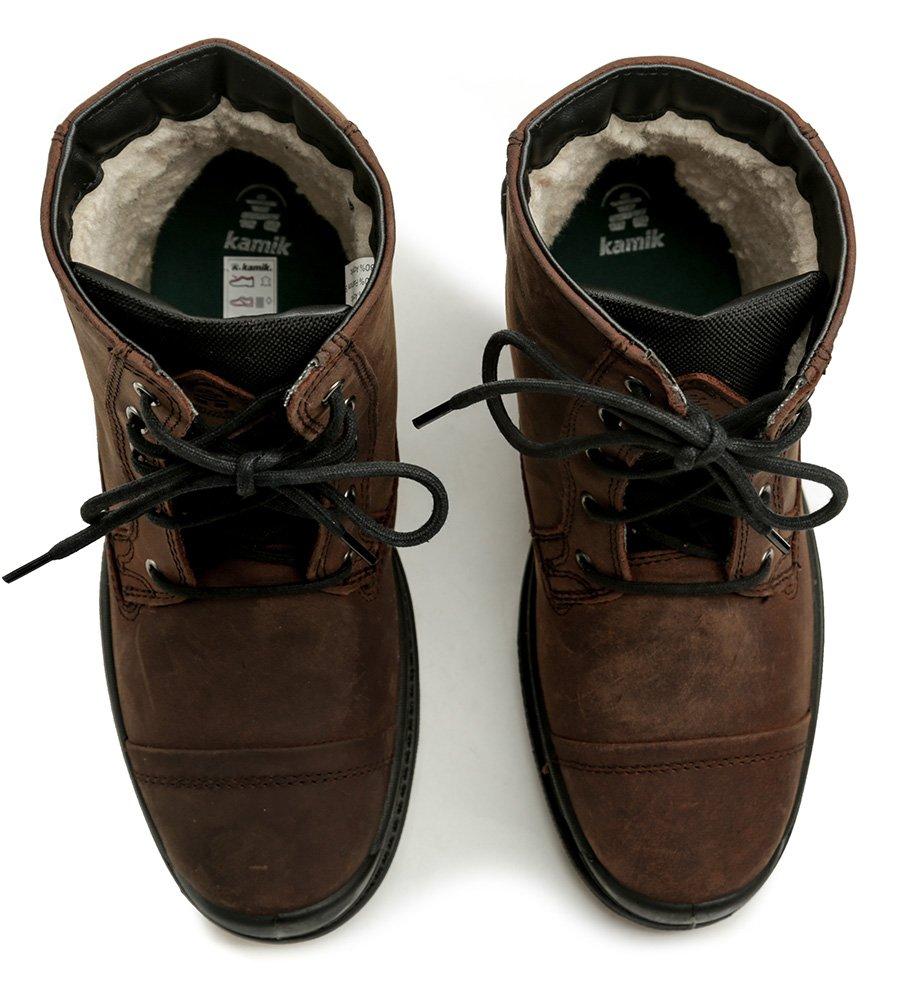 Kamik Griffon hnedé pánske zimné topánky  96fa6c64f61