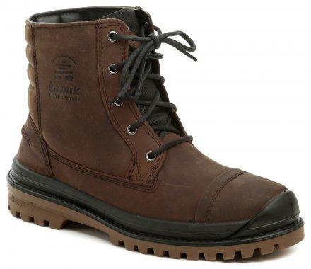 ada1975f3762b Kamik Griffon hnedé pánske zimné topánky