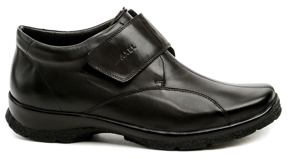 94727d37cb8c Axel AX4003 čierne dámske nadmerné zimné topánky šírka H