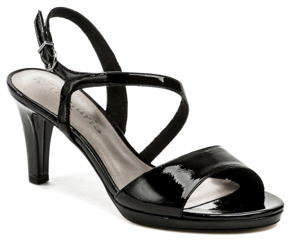 Tamaris 1-28319-22 čierna laková dámska obuv EUR 39