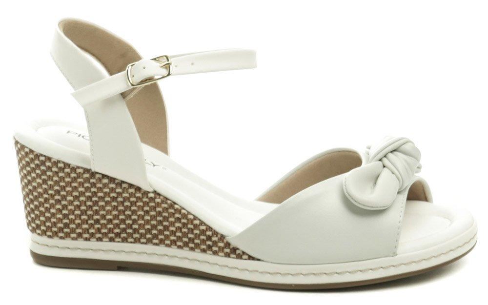 00f4c89694f Piccadilly 408132 biele dámske sandále na kline