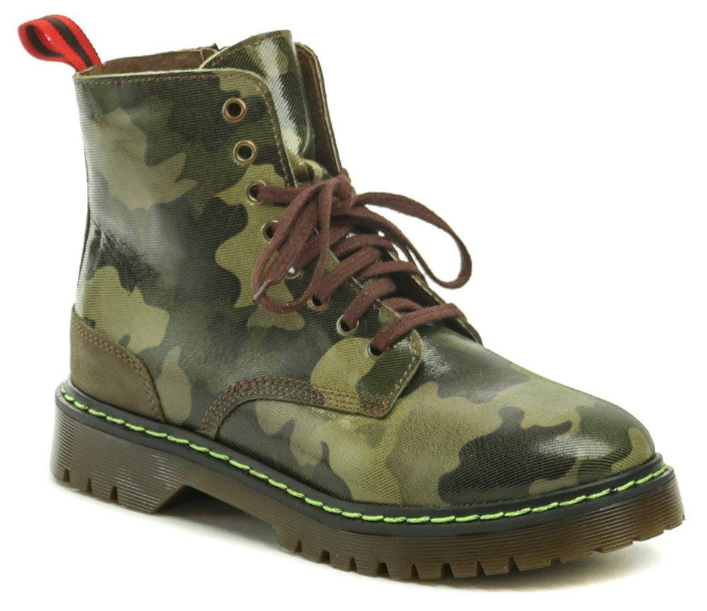 Koma 13D01M5 zelená maskáč členková obuv EUR 40