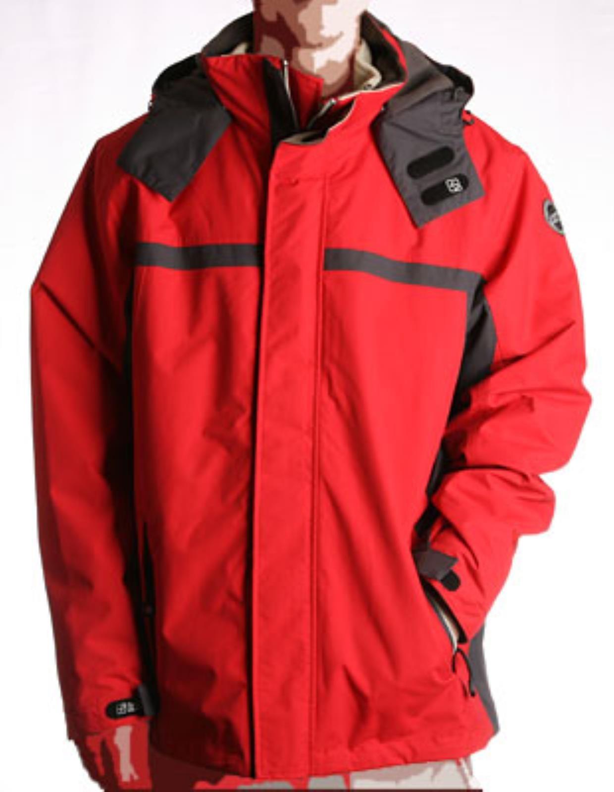 Killtec Moyano červená pánska celoročná bunda EUR S