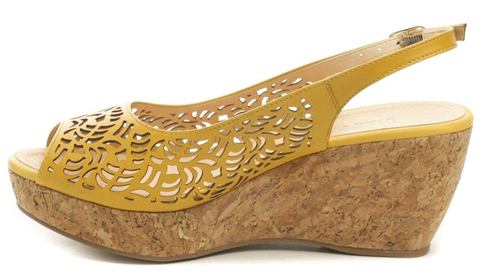 74432f76ae Patrizia Azzi 9700-241 okrová dámska letná obuv na kline