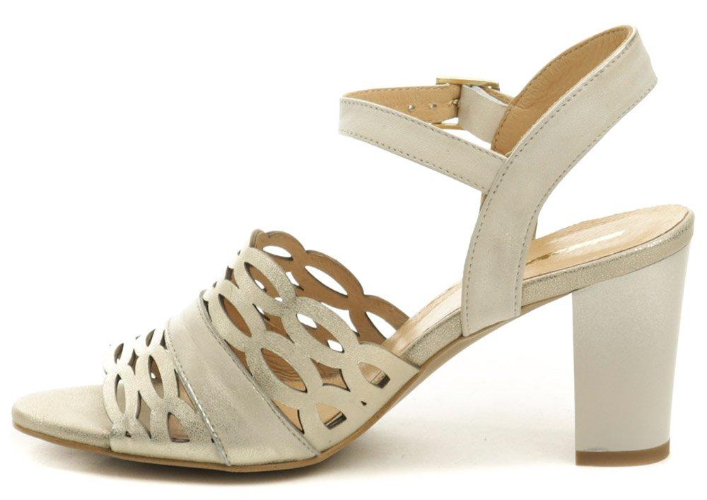 4624da62120c Mintaka 911073-24 bronzová dámska letná obuv na podpätku