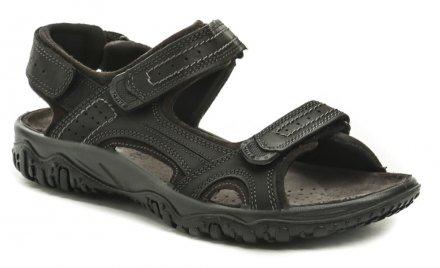 c91174cdb702 IMAC I2521e61 čierne pánske sandále
