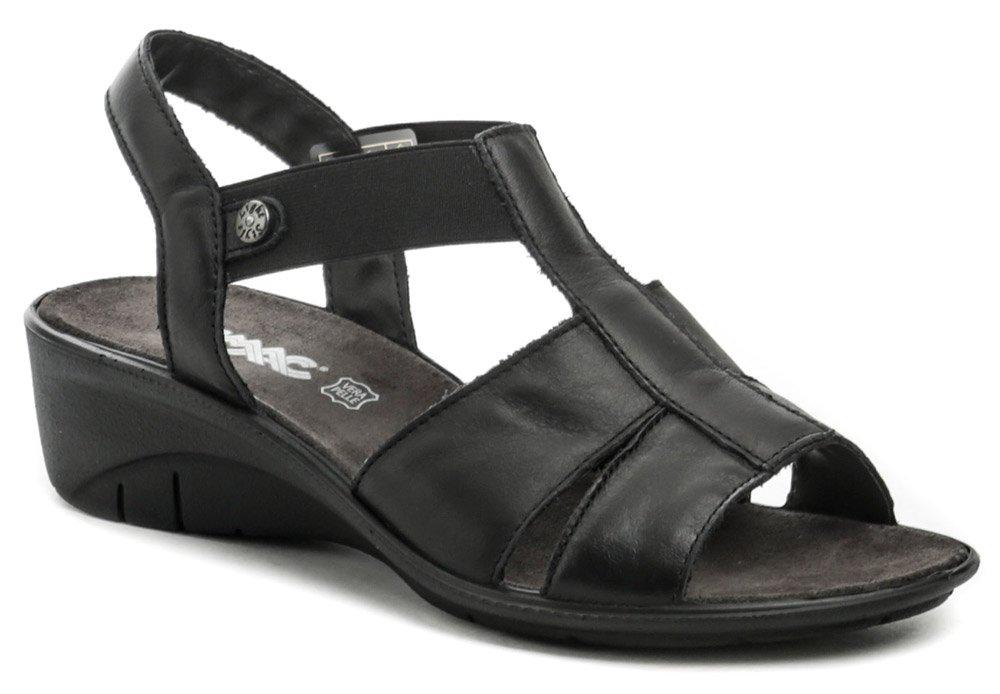 IMAC I2531e62 čierne dámske sandále na kline EUR 37