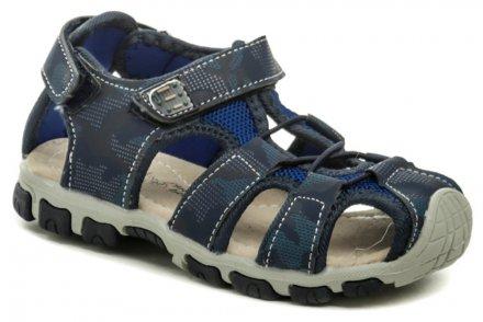 2c09b58fc177 Happy Bee B140070 modré detské sandále