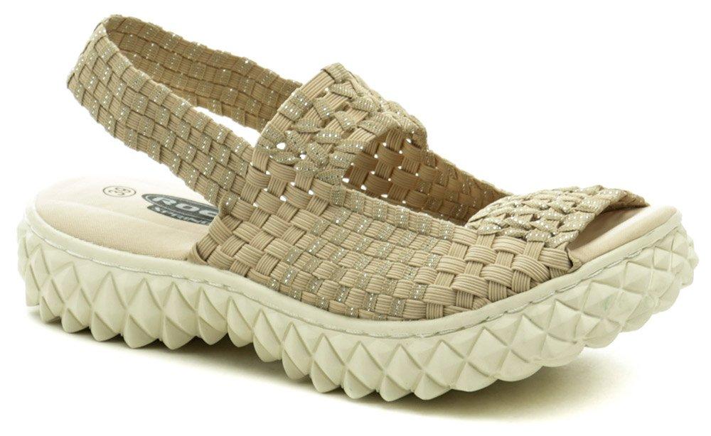 Rock Spring Tropicana béžová dámska gumičková obuv EUR 40