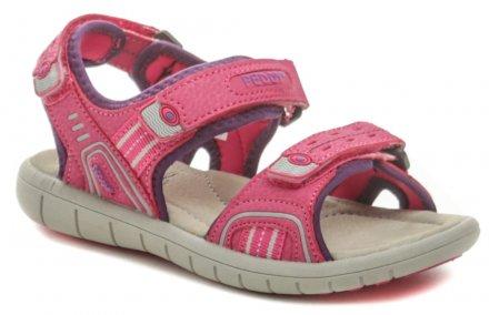 ffb1e6ecf418 Peddy P2-512-35-03 ružové detské sandálky