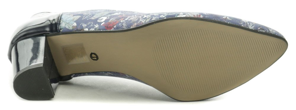 29c2f7274d20f Di Janno 9830-5016 modré dámske nadmerné lodičky | ARNO-obuv.sk