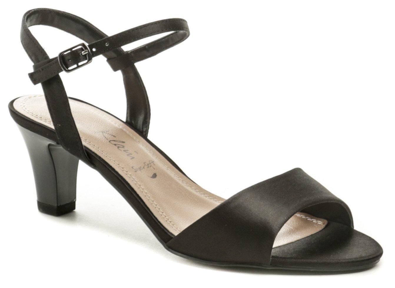 Jane Klain 282250 čierne dámske sandále EUR 37