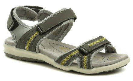 873ae792905a Scanda 251-2002-C1 šedé dámske sandále