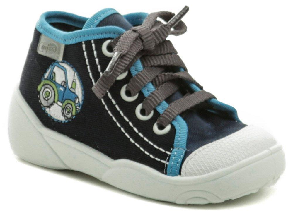 Befado 218P057 modré detské plátené tenisky EUR 22
