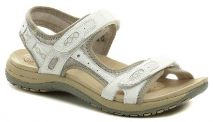 15d9b32a735a4 Earth Spirit Frisco biele dámska sandále