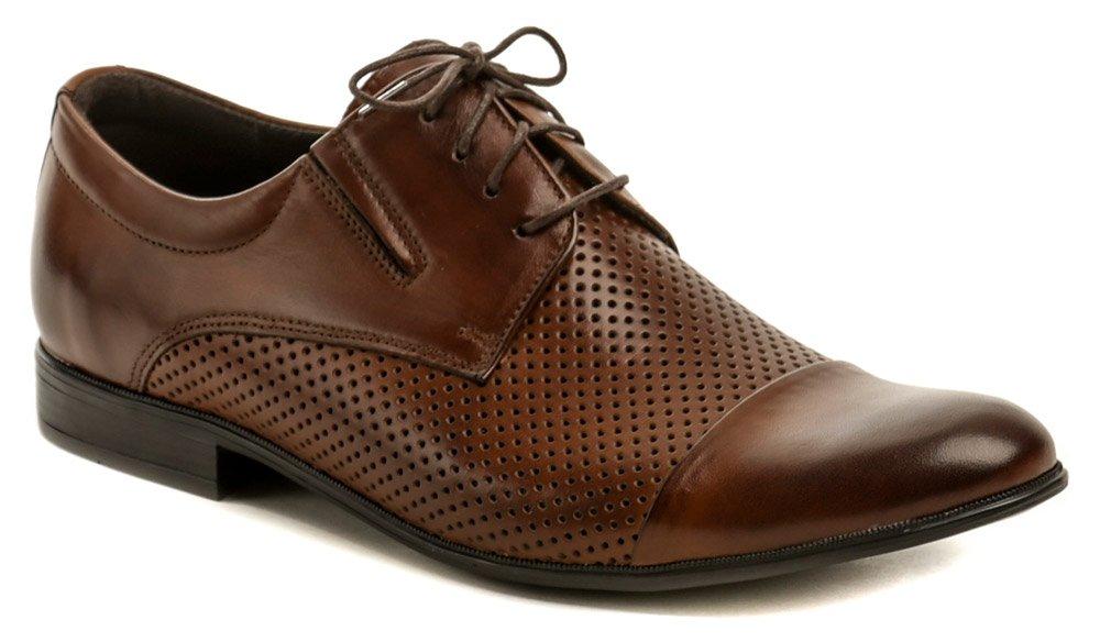 Tapi 4317AD-1 hnedá pánska spoločenská obuv EUR 45
