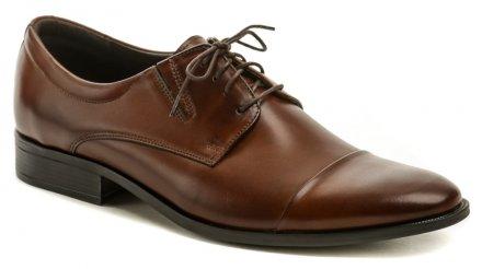 02d5e3102 TapiC-4929 hnedá pánska nadmerná spoločenská obuv