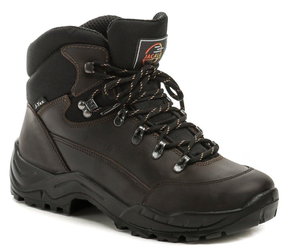 Jacalu A2615-41 hnedé pánske tracking topánky EUR 44
