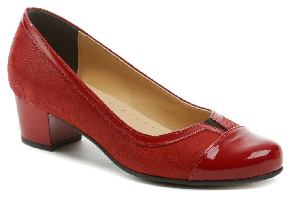 Mintaka 1211 červené dámske lodičky EUR 38
