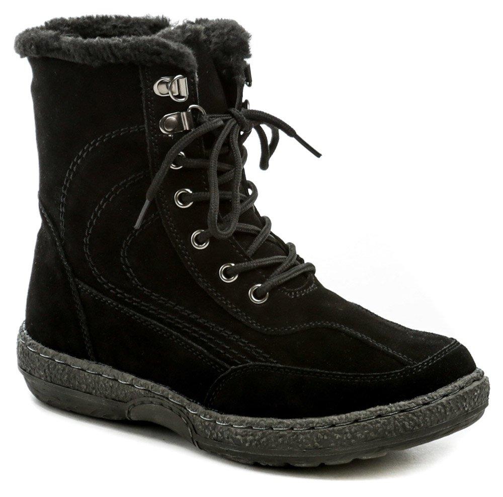 Topway B093218 čierne zimné dámske členkové topánky EUR 36