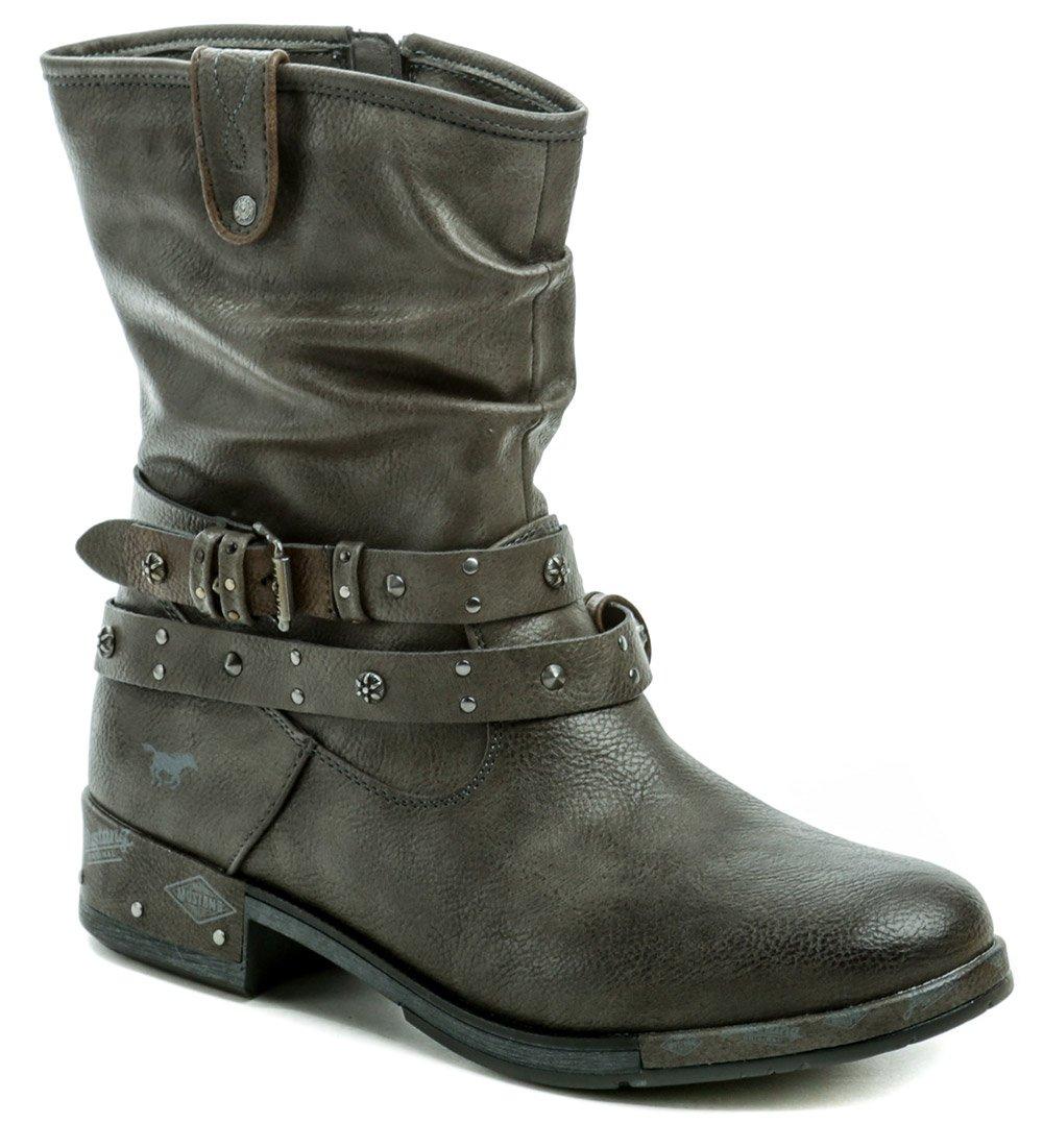 Mustang 1332-503-20 šedé nadmerné dámske zimné topánky EUR 42