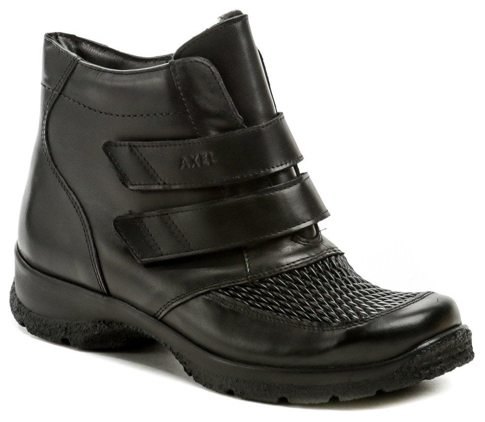 Axel AXBW070 čierne dámske zimné topánky šírka H EUR 37