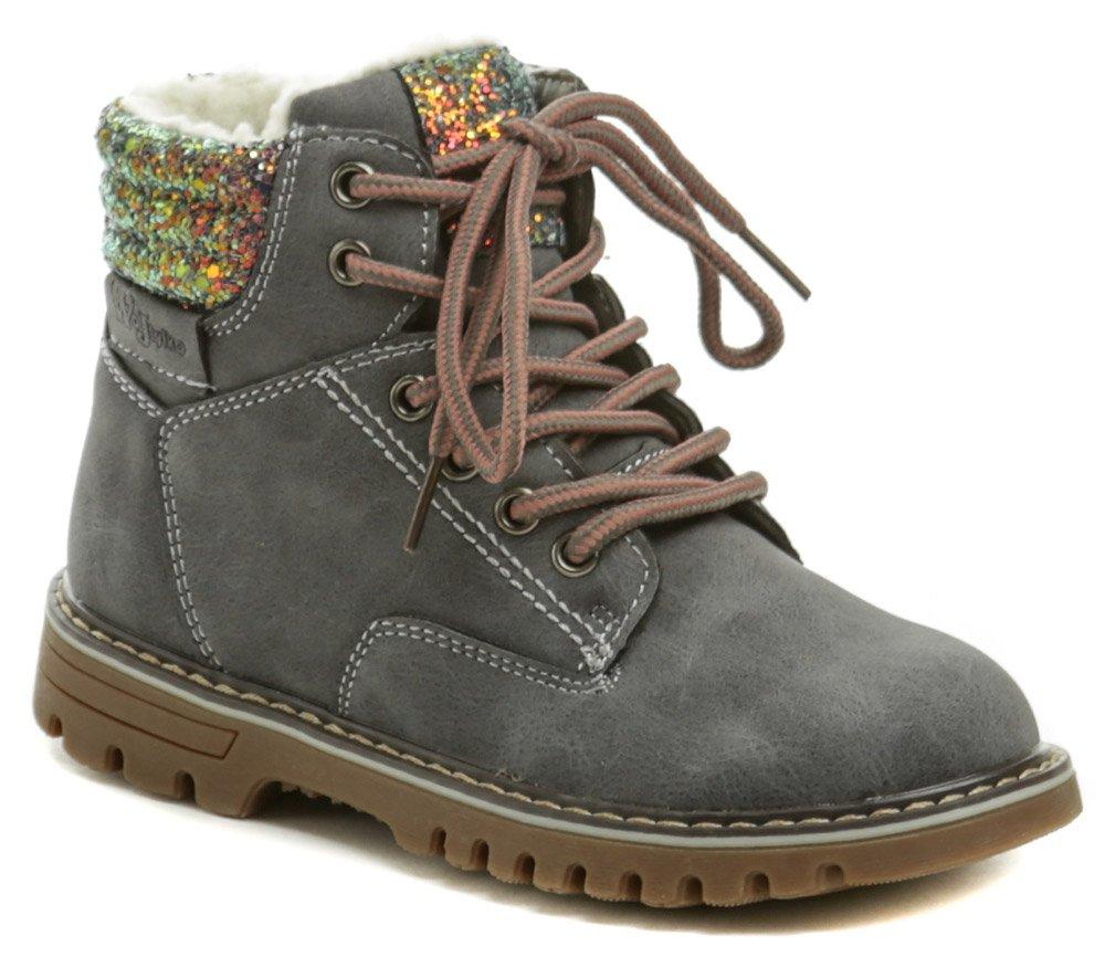 Wojtylko 3Z20128 šedé detské zimné topánky EUR 29