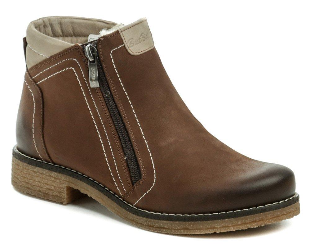 Mintaka 92318-4 hnedé dámske zimné topánky EUR 37