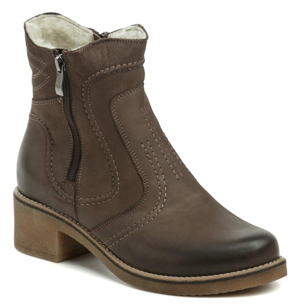 Mintaka 92326-4 hnedé dámske zimné topánky EUR 37