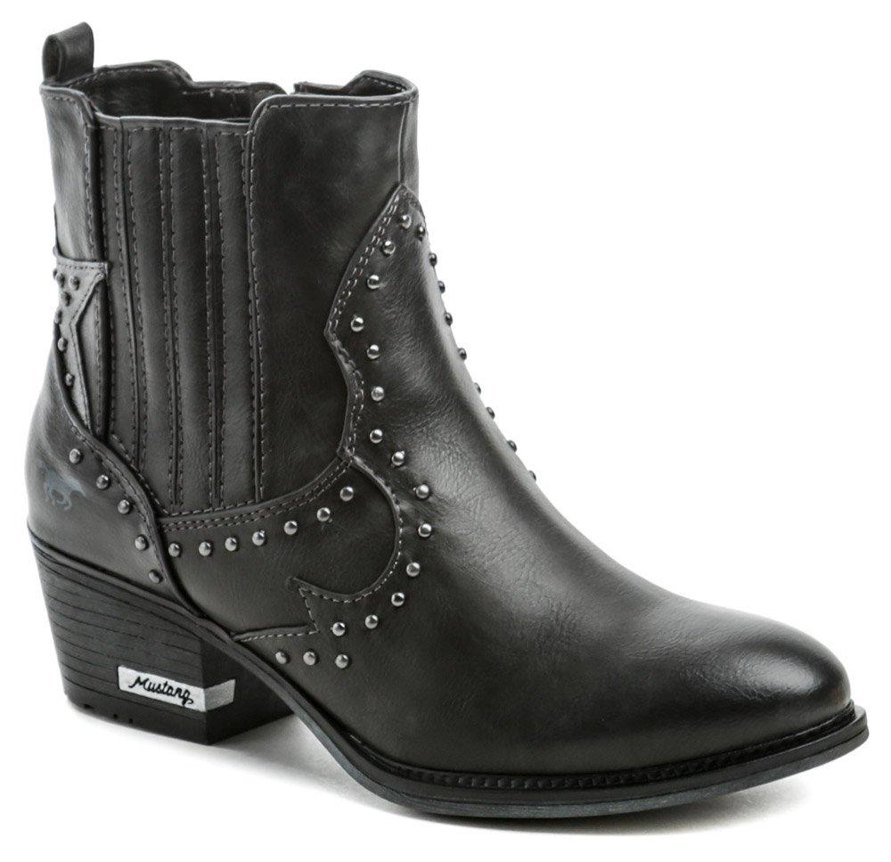 Mustang 1346-502-259 grafit dámske zimné topánky EUR 39