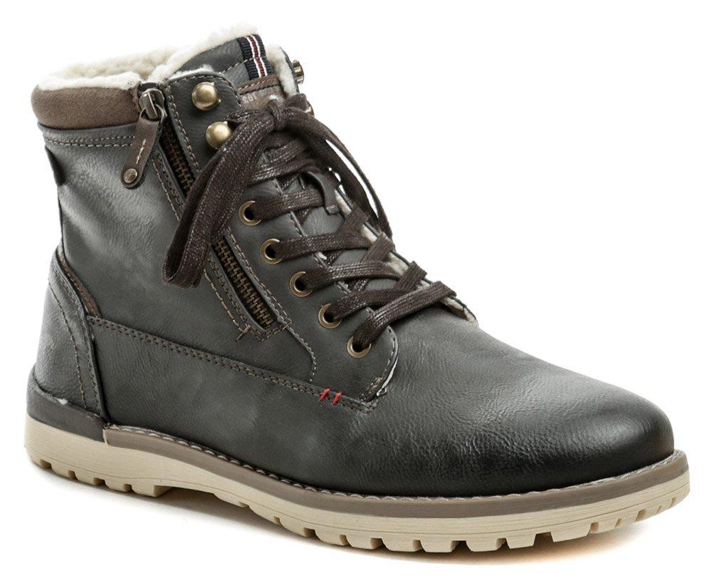 Mustang 4092-616-259 grafit pánske zimné topánky EUR 44