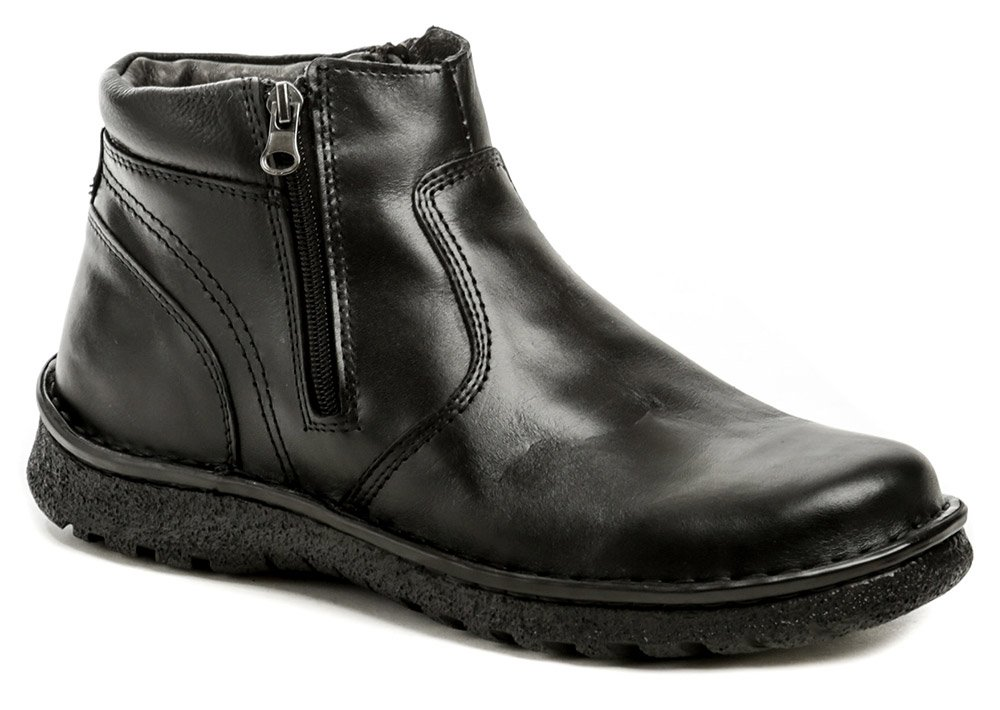 Bukat 253 čierne pánske zimné topánky EUR 41