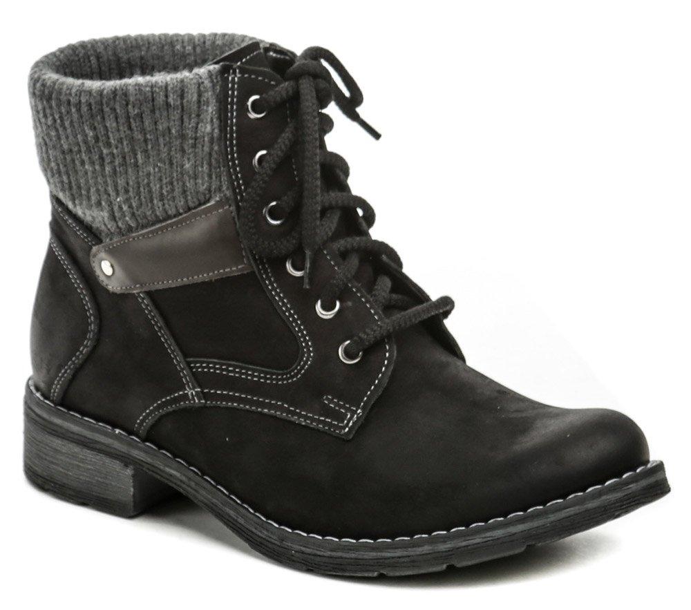 Mintaka 921290-1 čierne dámske zimné topánky EUR 38